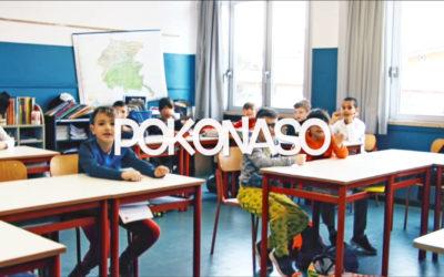 Scuola primaria e scuola dell'infanzia Menti Prudenti  In paese con PoKonaso